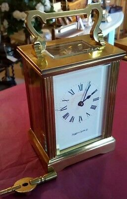 Carriage Clock , Mappin and Webb, 8 day movement, timepiece only