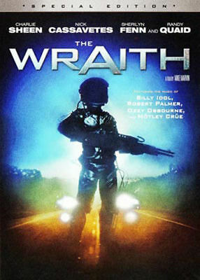 The Wraith DVD New and Sealed Australia All Regions