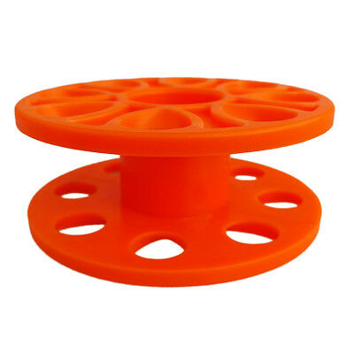 Compact Spool Dive Line Reel Guide Line Spool for Water Sports Diving Orange