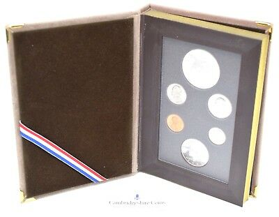 1983 USA 6 Coin Proof Year Set Cased Silver Los Angeles Dollar