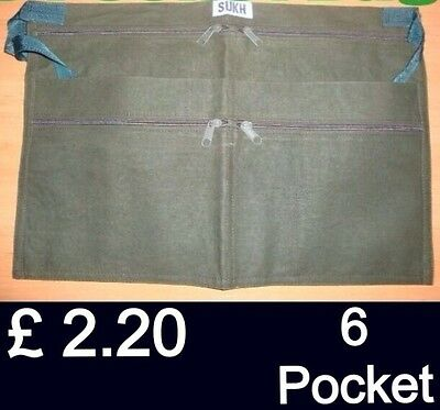 Market Trader Money Belt 6 Pocket