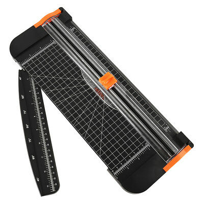 A4 Paper Cutter Trimmer Auto-safeguard with Exta Ruler for Craft Paper Photo