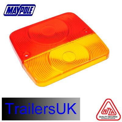 Radex Square Lends For 4 Function Small Rear Trailer Tail Lamp / Light - MP020