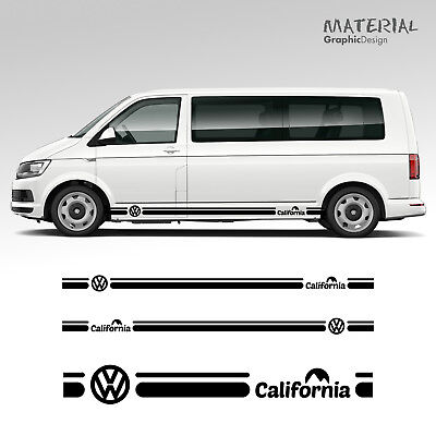 Volkswagen VW California Side Stripe Decal  T4 T5 T6 Caravelle Vehicle Graphic