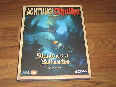 Achtung! Cthulhu Shadows of Atlantis HC Modiphius Entertainment New Neu 2015