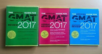 The Official Guide for GMAT Review 2017 Bundle