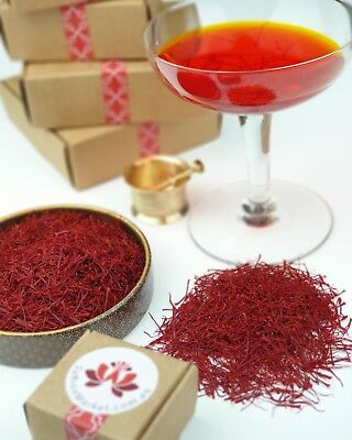 Pure Finest Premium Saffron Threads Highest Grade All Red Zafran 5 grams