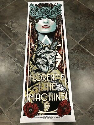 Florence And The Machine - 2016 - Austin - Rhys Cooper- Poster