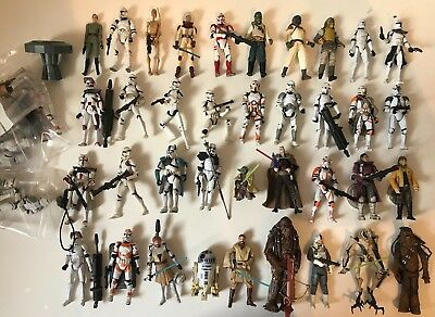 HASBRO Star Wars FIGURINES LOOSE A CHOISIR FIGURES TO CHOOSE ROTS EP3 CLONE WARS
