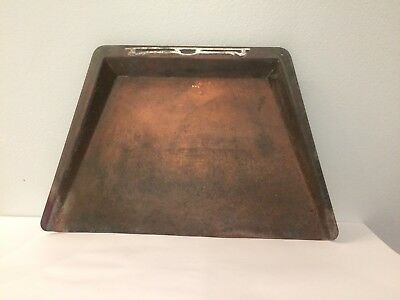 Heintz Art Metal Crumber Silent Butler Arts And Crafts Mission Copper