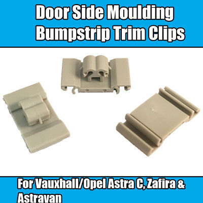 10 X Vauxhall  Door Bumpstrip Retaining Fast Clip Exterior Side Moulding g55