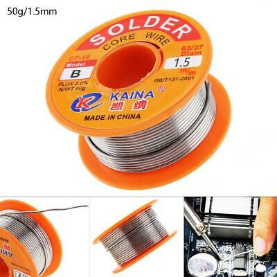 1.5mm Tin Fine Welding Wire Core Solder Wire with 2% Flux and Rosin Soldering