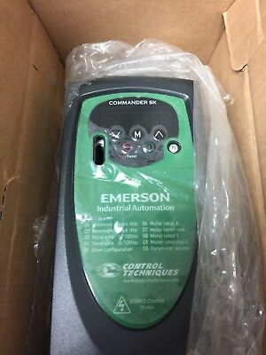 Emerson Control Techniques Commander SKCD200220 FREE SHIPPING BEST PRICE ON EBAY
