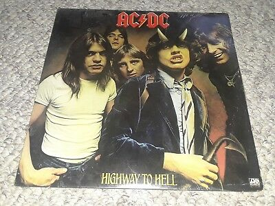 AC/DC Highway To Hell Record Vinyl LP