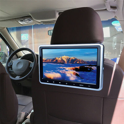 Digital Screen Car DVD LCD Headrest USB SD Monitor Game Player