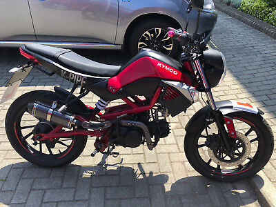 Kymco K-Pipe 50cc Moped - learner legal at 16 with CBT