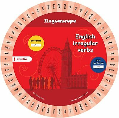 English Verb Wheel - The Essential Language Learning Tool