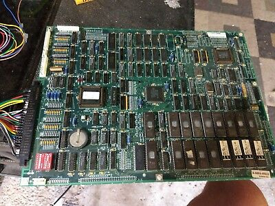 Nba jam 4 player pcb board tested working