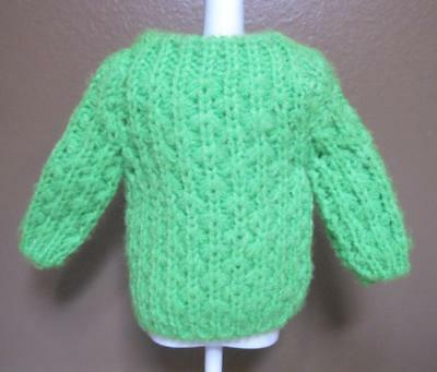 EXC. Vintage Francie Mod Hill Riders GREEN SWEATER #1210 Barbie DOLL! 1968-1969