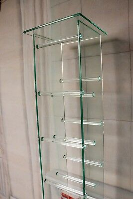 CD DVD BLUE RAY Glas Rack Regal Ständer 100 x 30