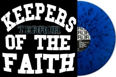 TERROR - Keepers of the faith / Vinyl LP (translucent/blue-splattered Vinyl)