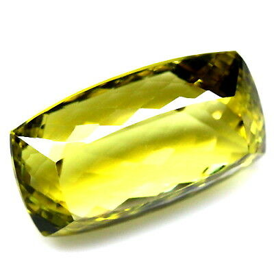 TOP BIG LEMON CITRINE : 39,12 Ct Natürlicher Lemon Citrin aus Brasilien