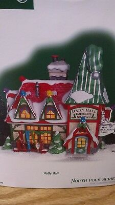 New Department 56 North Pole Series Hatly Hall
