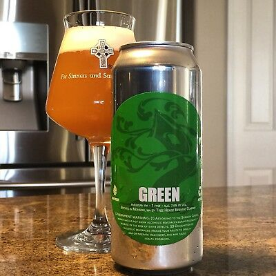 Tree House Brewing Green 6 Pack 7/19/18 Monkish Trillium Other Half