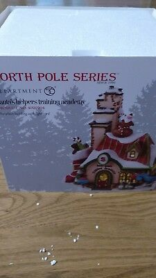 Dept 56 North Pole Series Santa's Helpers Training Academy