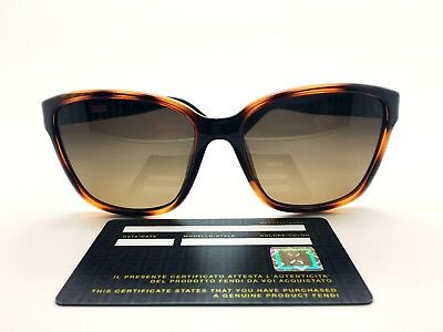 01989199bd71 Fendi Sunglasses Women FS 5343 214 Made in Italy Authentic + Case Free  Shipping