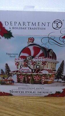 New Department 56 North Pole Series Peppermint Petes