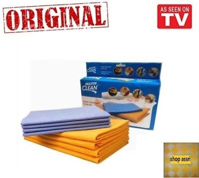 8-Piece WOW Set Super Sham-Wow Shammys - Super Absorbent Towels AS SEEN ON TV
