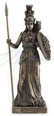 Athena Greek Goddess Of Wisdom, Courage and Inspiration Statue Sculpture Figure