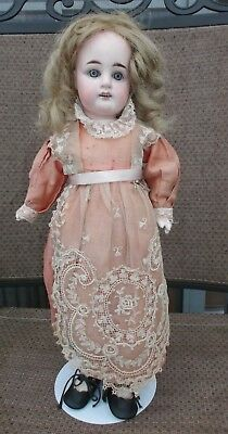 15 in German Sonnenbery Type Bisque Head Doll with Compo Body