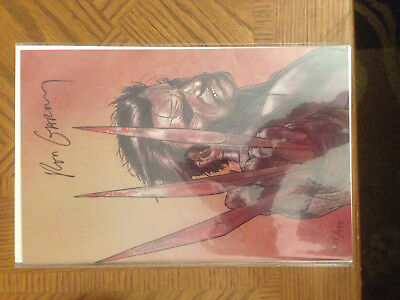 WOLVERINE: Weapon X #1 Dynamic Forces Variant Limited 637/999 SIGNED Ron Garney