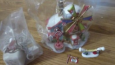 Department 56 Christmas Candy Mill & Don't Let Go