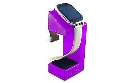 ASUS Zenwatch 2 Charging cradle watch stand by Artifex Design STAND ONLY(Purple)