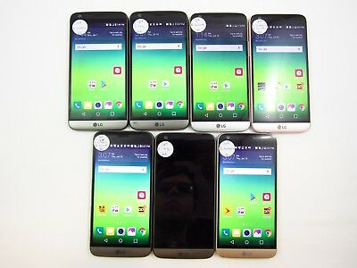 Parts&Repair Lot of 7 LG G5 LGLS992 Sprint Check IMEI 4PR-1799