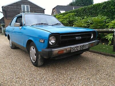 Datsun 120Y - 1978 - 2 Door - Starts and drives - Stored since 1993 -