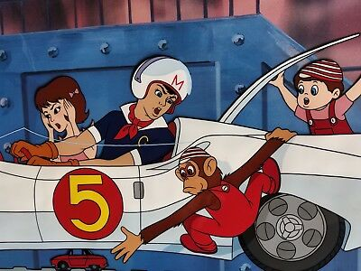 Animation Cel limited SPEED RACER