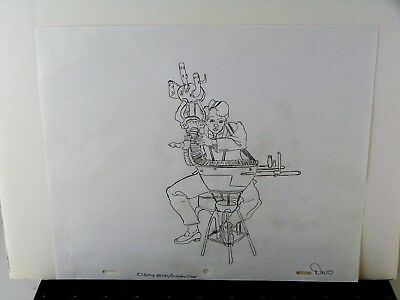 Great Heavy Metal Production drawing of Devo Band Member