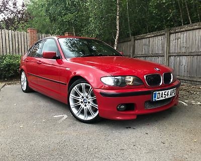 Bmw 330d M Sport E46 Imola Red