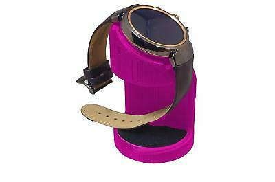 ASUS Zenwatch 3 Charging cradle watch stand by Artifex Design STAND ONLY(Pink)