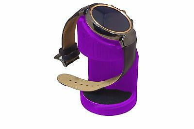 ASUS Zenwatch 3 Charging cradle watch stand by Artifex Design STAND ONLY(Purple)
