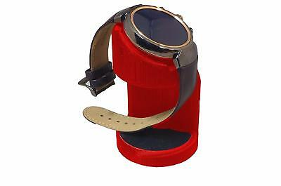 ASUS Zenwatch 3 Charging cradle watch stand by Artifex Design STAND ONLY(Red)