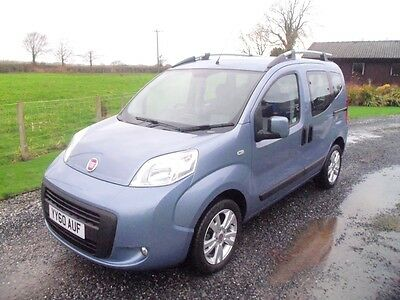 2010 Fiat Qubo Dynamic 1.3 Diesel Automatic Powered Wheelchair Accessible Ramp