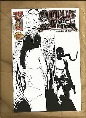 Witchblade Tomb Raider 1 vfn/nm 2005 DF foil logo rare Image Comics US Comics
