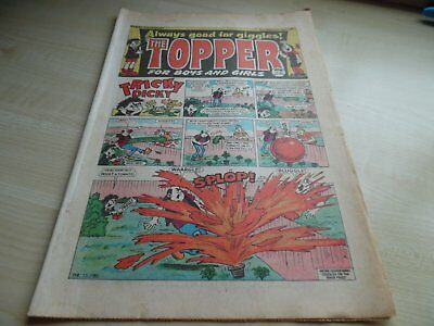 The Topper Comic No.1693 - July 13th 1985 - GOOD CONDITION