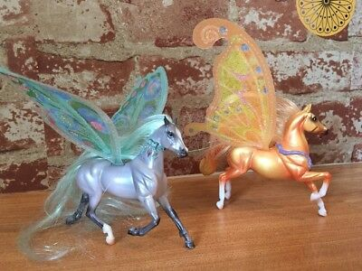 Set Of Two Breyer Wind Dancers Horses