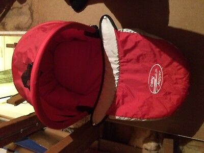 baby jogger city classic bassinet with attachments